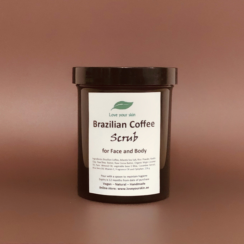 Brazilian Coffee Scrub for Face and Body