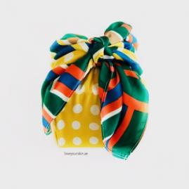 Scarf packaging - Yellow